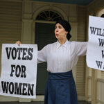 Sheryl Faye as Susan B. Anthony